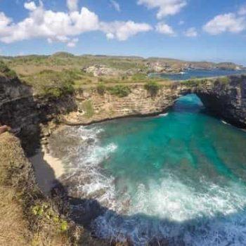 Nusa Penida Tour – Bali Tour - pemandangan 1 Angel's Billabong Nusa Penida