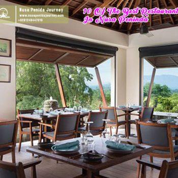 10 Of The Best Restaurants In Nusa Peninda